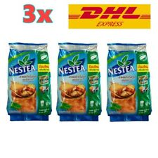 3 Bags Nestea Unsweetened Instant Tea Mix Nestle Powder No Sugar 90 g