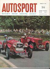 AUTOSPORT 18th MARZO 1966 * BMW 2000 ti ROAD TEST & Longford Tasman *
