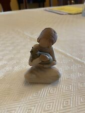 Willow Tree Kindness Girl with Cat Figure