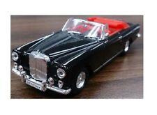 Bentley S2 Convertible Black 1:43 Model LUCKY DIE CAST