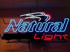 "New Natural Light Beer Neon Sign 17""x14"""