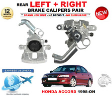 FOR HONDA ACCORD 1.8 2.0 2.2 2.3 1998-2003 2 X REAR LEFT + RIGHT BRAKE CALIPERS