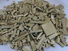 Lego Bulk Lot 1 POUND of Tan Bricks Plates and Parts