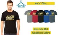 GOLD KINGS Are Born In OCTOBER TSHIRT The Best Birthday Tee Birthday TSHIRT