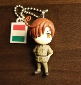 Hetalia figure keychain charm Romano Lovino South Italy strap anime