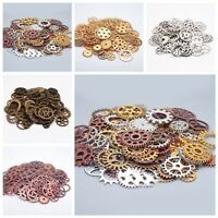 100g Pieces Old STEAMPUNK Pocket Wrist WATCH PARTS Gears Cogs Wheels Useful