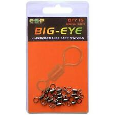 BRAND NEW ESP BIG-EYE SWIVELS COARSE CARP FISHING