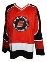 Custom Name # Fort Wayne Komets Retro Hockey Jersey New Red Dupuis Any Size