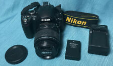 Nikon D40 Digital SLR Camera Body 6.1 MP with 18-55mm Lens - Shutter Count 4,152