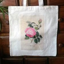Impresión botánico Vintage Estilo Victoriano Eco Friendly Shabby Chic Algodón Bolso