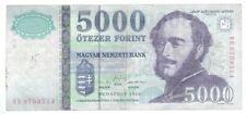 Banknote Ungarn / Hungary - 5000 Forint - 1999 - selten