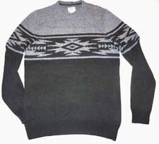 New Vans Men Henrich Pullover Knit Sweater Medium