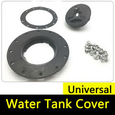 Universal Fuel Cell Gas Tank Filler Cap Twist Cap + Filler Plate +Fittings Kit