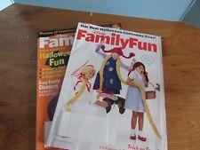 lot of 2 family fun magazine oct 2009 2010 halloween fun crafts recipes games - Family Fun Magazine Halloween Crafts