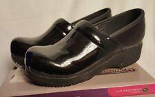 ~NEW~ Skechers Work Size 9.5 Women's Clog Slip Resistant Work Shoes Black