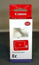 Canon Ec-B New Split Focus Screen For Various Canon 1 UPC 082966519987 New