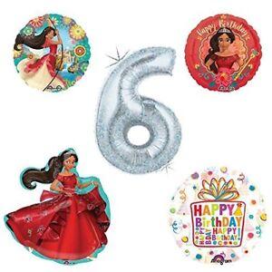 Princess Elena Of Avalor Holographic 6th Birthday Party Balloon Kit