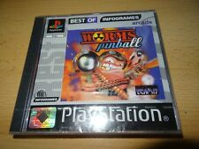 WORMS PINBALL FOR SONY PLAYSTATION 1 PS1 pal new sealed