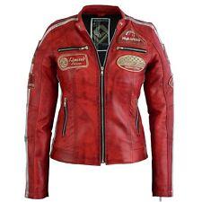 Motorrad Jacken aus Leder für Frauen günstig kaufen   eBay