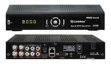 NEW LINKBOX 9000i HD LOCAL FTA Satellite + OTA Receiver, USA Authorized Dealer
