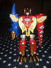 "Power Rangers Dino Thunder Thundersaurus Megazord 6""bandai 2003 wheels"