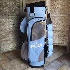 New • PX5 - CART GOLF BAG - Light Blue Lightweight • 7 Pockets 6 Dividers - NICE