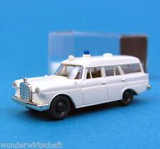 Brekina 1870 h0 Mercedes-Benz 190 ambulanza KTW RDC MB OVP ho 1:87 BOX