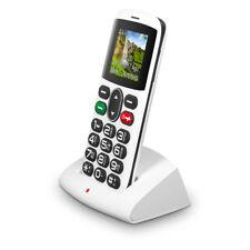 Teléfonos móviles libres blanco con anuncio de conjunto