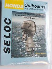 SELOC 1200 HONDA 4 STROKE OUTBOARD SERVICE REPAIR MANUAL1978 to 2001