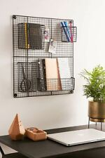 (NEW) Tenley Wire Wall Grid by URBAN OUTFITTERS/ Black / BRAND NEW!!!