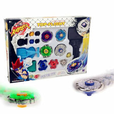 Beyblade 4D Top Fusion Metal Master Fight Rapidity RARE Launcher Set Lot Kid Toy