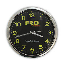 FRO Systems Motocross Wall Clock - Corp, Bedroom, Garage, Factory, Warehouse
