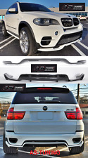 AERODYNAMIKPAKET BODY KIT (Front+Hecklippe) für BMW E70 X5 LCI 10-14Bj. + Kleber