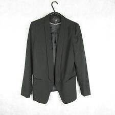 New! Stunning! H&M Women Black Stylish Blazer Size 36EUR - Summer Casual Fashion