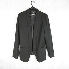 New! Stunning! H&M Women Black Stylish Blazer Size 36EUR - Summer Casual Fashion