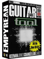 TOOL ÆNIMA Guitar & Bass Tabs CD-R Digital Lessons Software Aenima Windows Mac