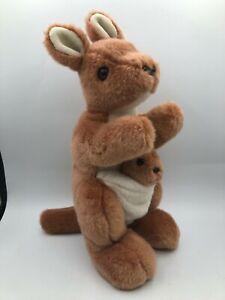 TY Beanies Buddies Collection Kangaroo 2000 Plush Kids Soft Stuffed Toy Animal