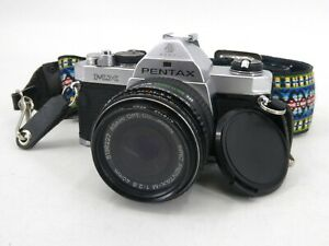 Vintage Pentax MX 35mm SLR Camera With Pentax-M 1:2.8 40mm Lens