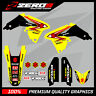 SUZUKI RM RMZ 125 250 450 MOTOCROSS MX GRAPHICS DECAL KIT OEM STYLE SPLIT KIT