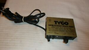 Vintage HO Scale Tyco Hobby Transformer Power Pack #899B for DC