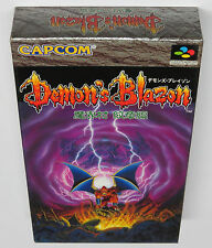 Demon's Blazon Demons Crest Super Famicom Japan JPN * BRAND NEW GAME! *