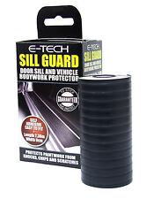 E-Tech Door Sill Guard Car Bodywork Trim Protector BLACK 607630
