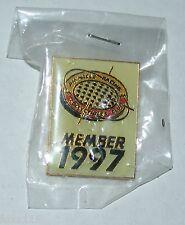 Vintage Pinnacle Racing Collectibles Club Member Lapel Hat Pin 1997 Member Exclu