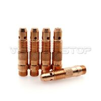 5pcs TIG Welding Collet Body 10N29 10N30 10N31 10N32 10N28 fit WP 17 18 26 Torch