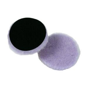 Lake Country Purple Foamed Wool Buffing And Polishing Pad 5 inch