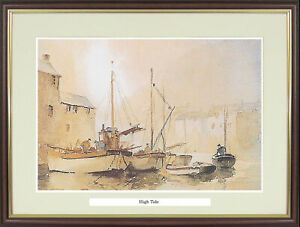 """Boat picture """"High Tide"""" by Claude Kitto - NGM14"""