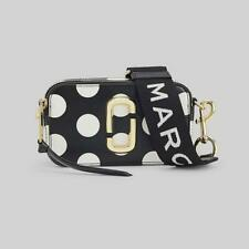 NWT Genuine Marc Jacobs DOT Snapshot  Small Camera Bag Crossbody BLACK SALES.