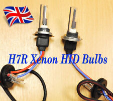 H7R 6000K HID WHITE colour Xenon car Bulb 2 Bulbs AC 35w Lamps Metal based U.K.