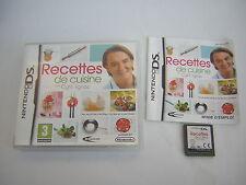 nintendo DS Recettes de Cuisine avec Cyril Lignac