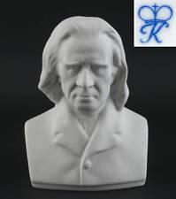 Bisquit Porzellan Büste Franz Liszt Kämmer H12cm 9944076